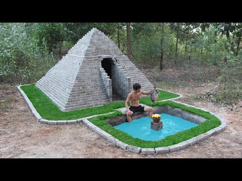Unbelievable! Build Pyramids And Swimming Pool By Ancient Skill - Thời lượng: 10 phút.