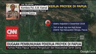 Video Polisi Selidiki Dugaan Pembunuhan Puluhan Pekerja Proyek di Papua MP3, 3GP, MP4, WEBM, AVI, FLV Desember 2018