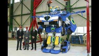 憧れの変形ロボが現実に アスラテックなど、人車変形ロボット公開