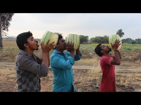 30 KG Watermelon Juice Prepared in my village | How to make watermelon juice