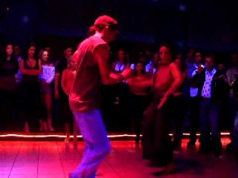 Edie dancing w/ Adrian P. - Romania, 2006 (видео)