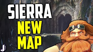 Paladins OB53 brought a new map Sierra to the test queue, which although in prototype stages is very fun - especially for flankers! It features a city carved into a mountain and if gets the go ahead could lead to some dwarven or stone lore. I cover it here with Evie Gameplay. Chance to win Founders Pack - https://gleam.io/WQ7Vl/founders-packFollow me - https://twitter.com/JoshinoYTSupport Me - https://www.patreon.com/JoshinoCome chat - https://discordapp.com/invite/joshino