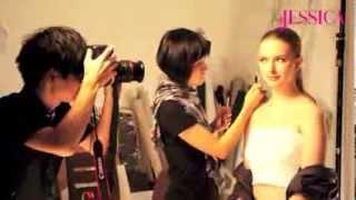 旭茉JESSICA 2013年10月號 - BOBBI BROWN 化妝教室幕後拍攝花絮
