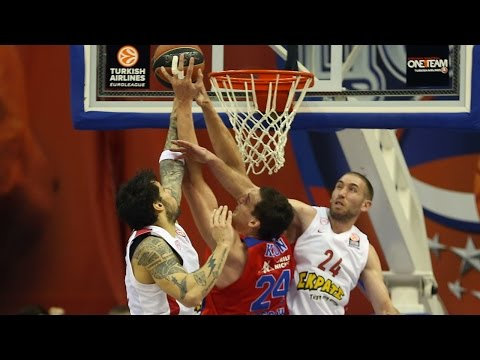 Highlights: Top 16, Round 13 vs. Olympiacos Piraeus