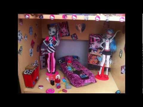 mi casa de monster high - my monster house