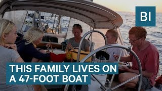 Video Family Has Been Sailing Around The World Non-Stop For 9 Years MP3, 3GP, MP4, WEBM, AVI, FLV Januari 2019