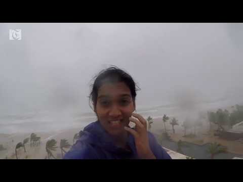 Video: Watch as heavy rains, strong winds hit Salalah as Cyclone Mekunu nears