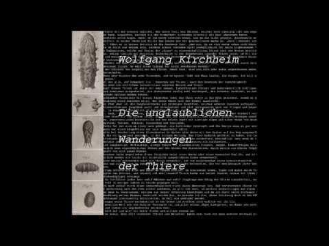 Wolfgang Kirchheim - Die unglaublichen Wanderungen der Thiere