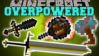Minecraft: OVERPOWERED WEAPONS (NOTHING WILL STAND IN YOUR WAY!) Mod Showcase
