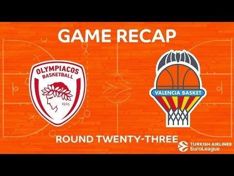 Video - Euroleague: Η επιστροφή του Ολυμπιακού, κέρδισε (80-70) την Βαλένθια στο ΣΕΦ
