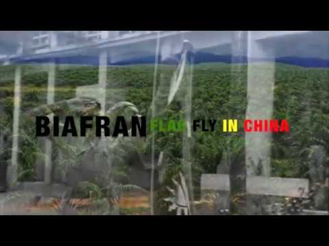 BIAFRA FLAG FLY HIGH IN CHINA