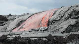 Video Kilauea Lava Flow Oct 8, 2008 MP3, 3GP, MP4, WEBM, AVI, FLV Juli 2018