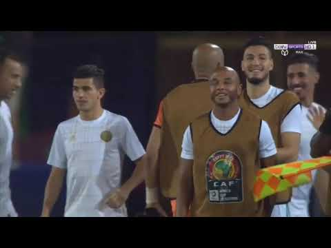 Goals of the Algerian national team in the African Cup of Nations in Egypt 2019