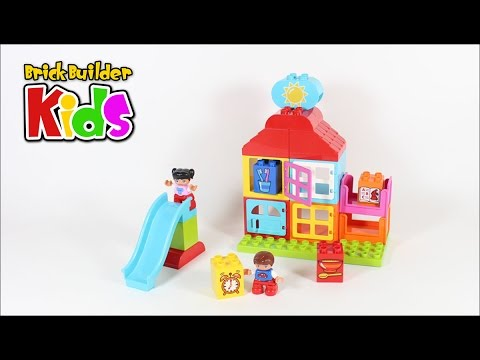 Lego DUPLO 10616 My First Playhouse – Lego Speed Build for Kids