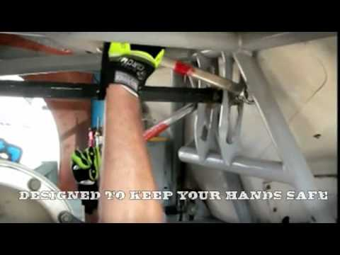 HexArmor Safety Gloves - CHROME SERIES: IMPACT HI-VIS - 4026 Video Image