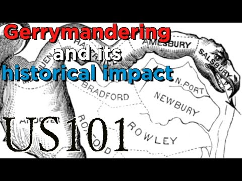 Gerrymander: How It Changed The US - US 101