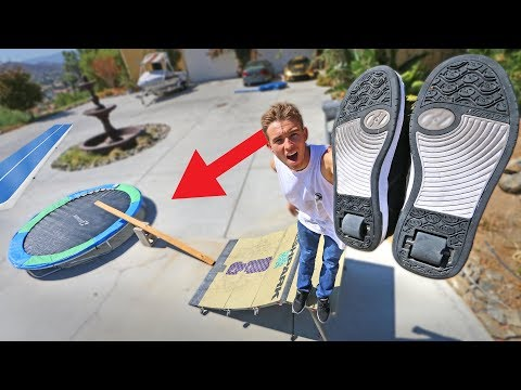 HEELYS OBSTACLE COURSE!