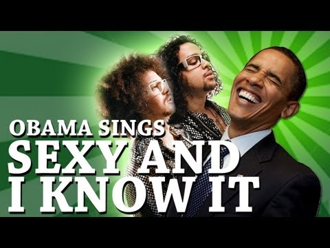 Barack Obama Singing Sexy and I Know It by LMFAO_A valaha felt�lt�tt legn�pszer�bb h�rek