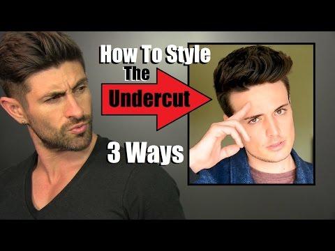 How To Style An Undercut 3 Ways | A Blumaan Hair Tutorial
