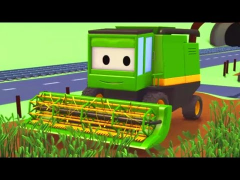 Harvey the Harvester and his friends in Car City: Tom the Tow Truck, Troy the Train and more Trucks