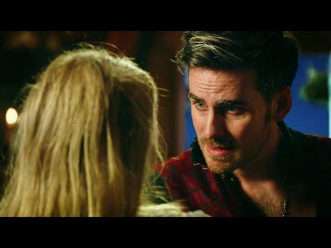 Once Upon A Time 7x13 Opening Scene - Mother Gothel Kills Wish Realm Hook In Alice's Dream Scene