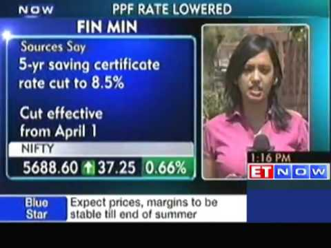 Govt Cuts PPF rate to 8.7% from 8.8%