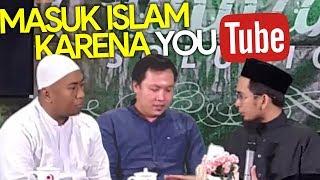 Video MASYAALLAH😱 2 Pemuda ini MASUK ISLAM karena NONTON YouTUBE - Ustadz Adi Hidayat LC MA MP3, 3GP, MP4, WEBM, AVI, FLV Agustus 2019