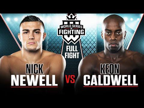 Nick Newell vs Keon Caldwell | WSOF 4, 2013