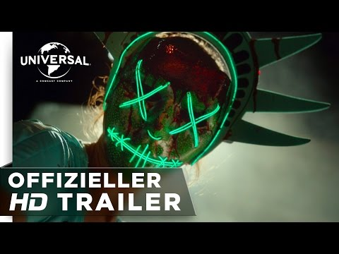 The Purge: Election Year - Trailer german/deutsch HD