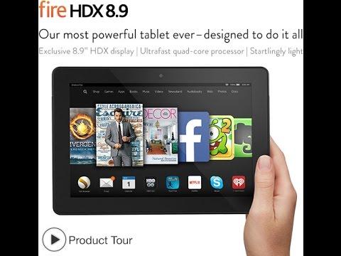 Fire HDX 8.9, 8.9