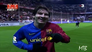 Video The Day Messi Was Applauded by Sevilla Fans After A Crazy Entertaining Performance ► 2008/2009 MP3, 3GP, MP4, WEBM, AVI, FLV April 2019