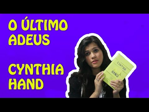 RESENHA: O ÚLTIMO ADEUS, DE CYNTHIA HAND | How I Met That Book