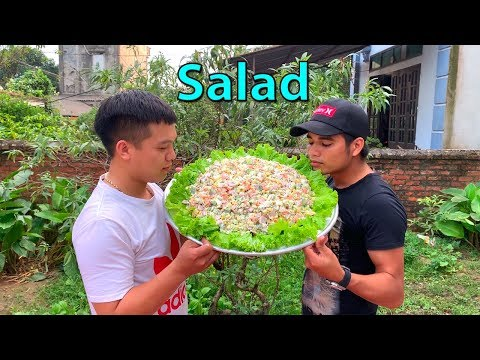 Hữu Bộ | Làm Mâm Salad Khổng Lồ - Thời lượng: 11:54.