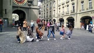 (Fancam) TWICE dancing 'Knock knock' in Bern, Switzerland