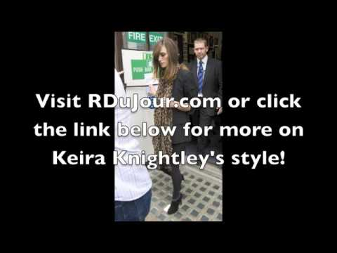Kiera Knightley Style