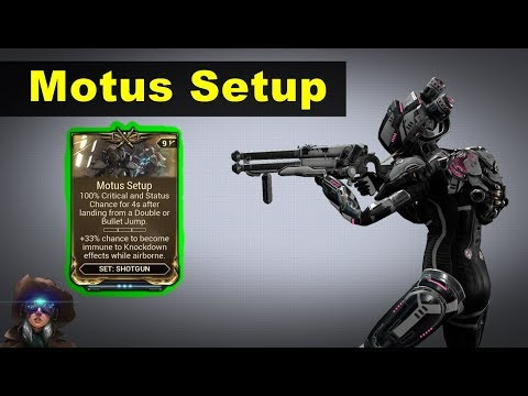 Motus Setup - For Bouncy Shotgun Players! (Vaykor Hek + Drakgoon)