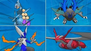 ALL EXTREME SHINY POKEMON in GLOWING GARNET! by aDrive
