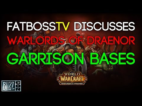 garrison - Alex and Loz discuss the new Garrison Bases feature in the new World of Warcraft expansion - Warlords of Draenor revealed at Blizzcon 2013. Garrison Bases pr...