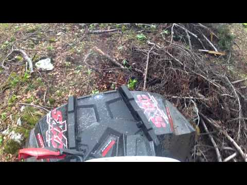 Polaris Scrambler 850 XP EPS 2013  A Bit Harder