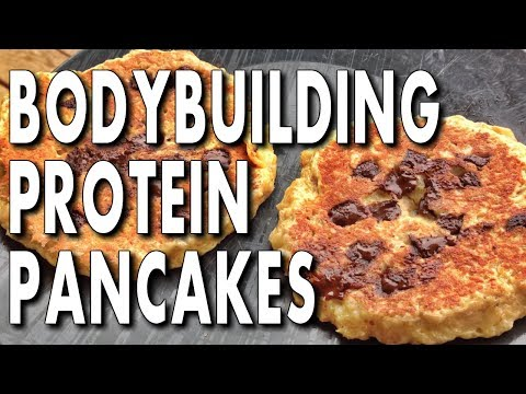 THE EASIEST BODYBUILDING PROTEIN PANCAKES