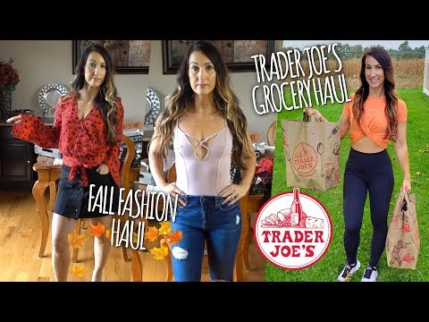 Fat burner - Trader Joe's Grocery Haul  Fall Fashion Haul  Vlog-O-Lean