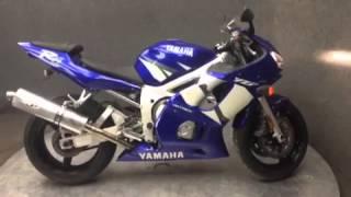 9. 2002 Yamaha YZF-R6 stock 20509