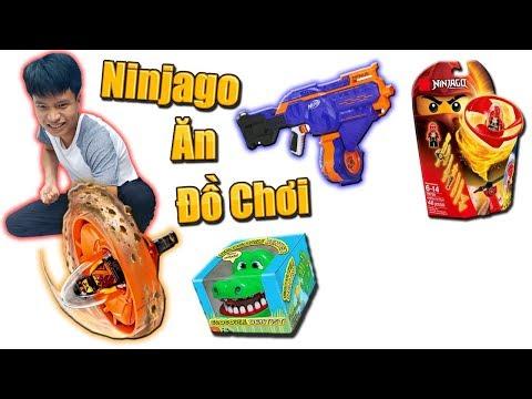 Tony | Thử Thách NINJAGO Ăn Đồ Chơi - Ninjago Get Toys - Thời lượng: 11 phút.