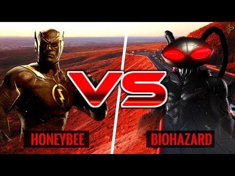 OFFLINE MATCHES! HoneyBee (Flash) vs Biohazard (Black Manta)