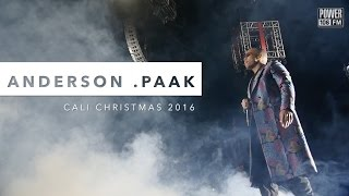 Anderson .Paak Performs 'Come Down' LIVE At Cali Christmas 2016