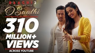 Video O Saathi Video Song | Baaghi 2 | Tiger Shroff | Disha Patani | Arko | Ahmed Khan | Sajid Nadiadwala MP3, 3GP, MP4, WEBM, AVI, FLV April 2018