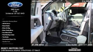 Used 2005 Ford F-150 | Mike's Motors LLC, Stratford, CT