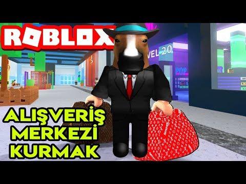 🛍️ Kendi Alışveriş Merkezimizi Kuruyoruz 🛍️ | Mall Tycoon | Roblox Türkçe