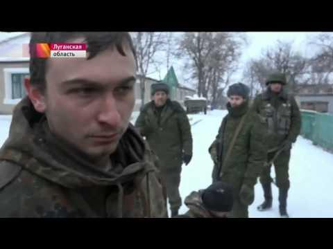 Ополченцы взяли в плен спецназ укропов в Дебальцево 16 02 2015 - DomaVideo.Ru