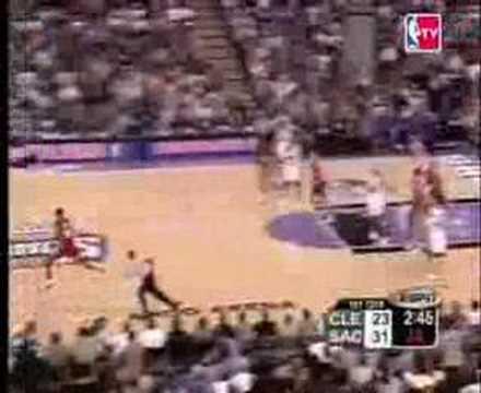 LeBron's First NBA Game